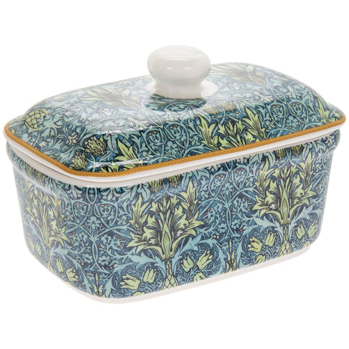 William Morris Snakeshead Butter Dish
