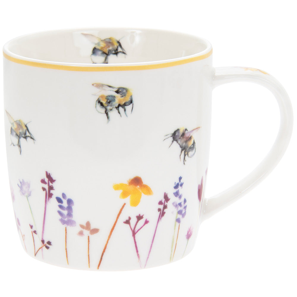 Busy Bees Fine China Mug