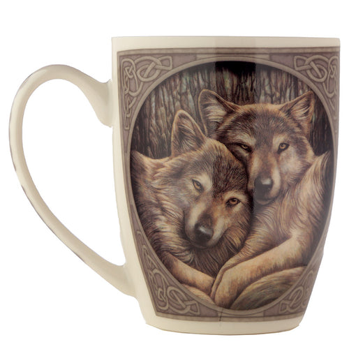 Lisa Parker Loyal Wolf Companions Bone China Mug