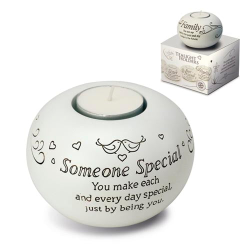 Said With Sentiment Tealight Holder - Someone Special