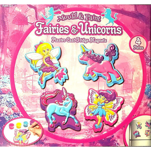 Make Your Own Fairies and Unicorns Fridge Magnet
