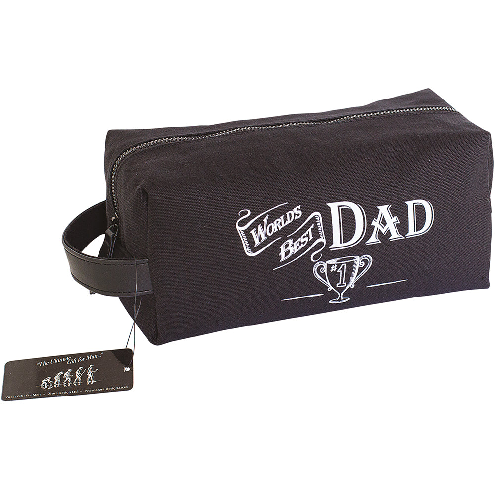 World's Best Dad Wash Bag
