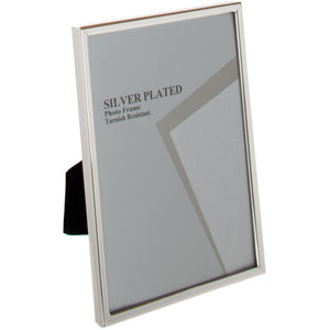 Silver Plated Thin Edge Photo Frame 2.5 x 3.5-inch