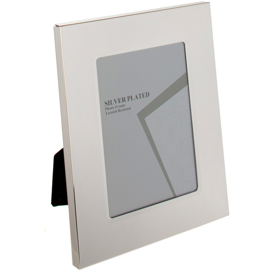 Silver Plated Thick Edge Photo Frame 5 x 7 -inch