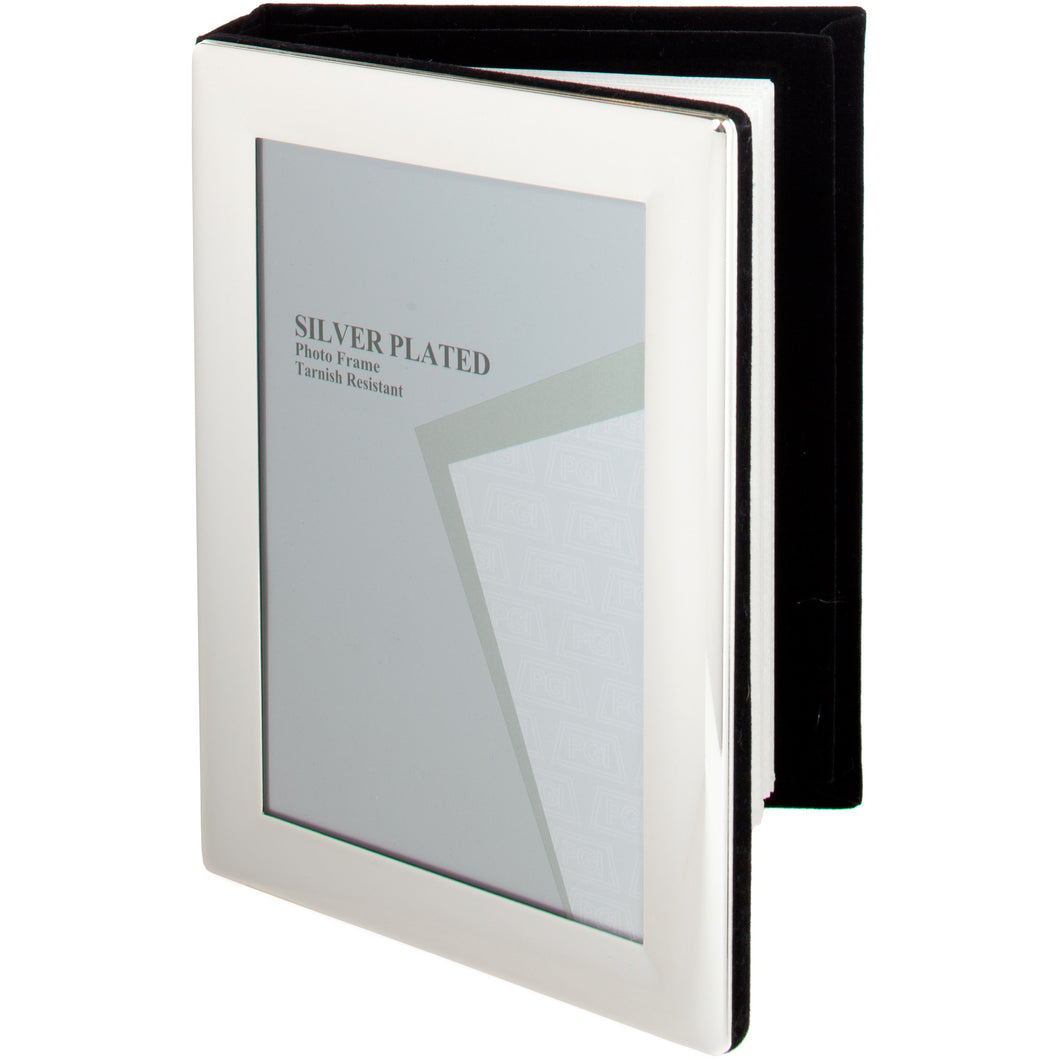 Silver Plated Photo Album 5 x 7 -inch