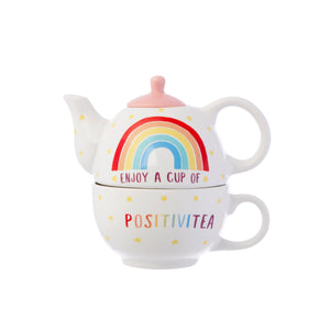 Sass and Belle Rainbow Positivitea Tea for One