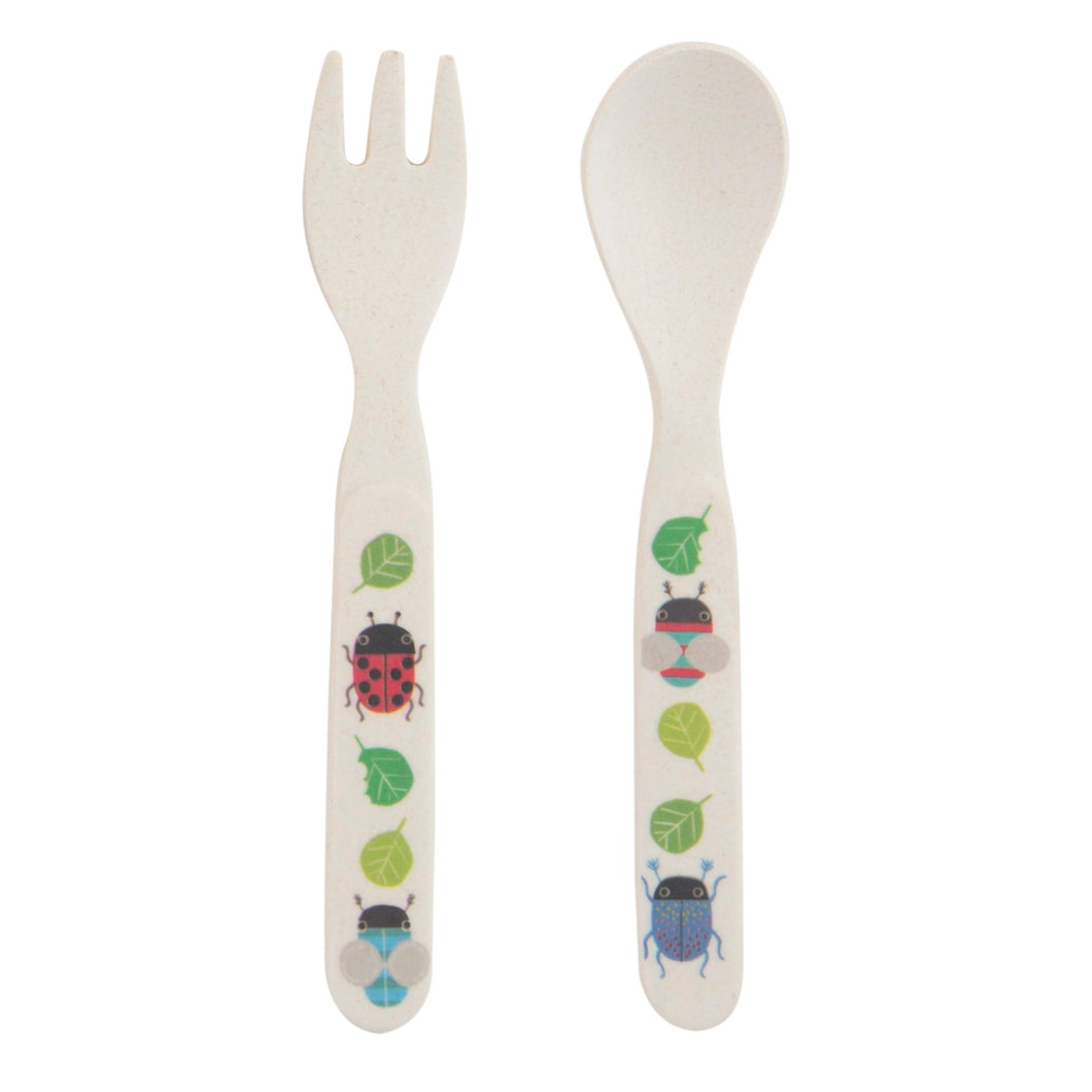 Sass and Belle Busy Bugs Bamboo Cutlery Set
