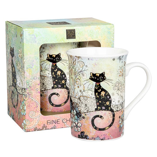 Bug Art Gorgeous Cat Design Mug