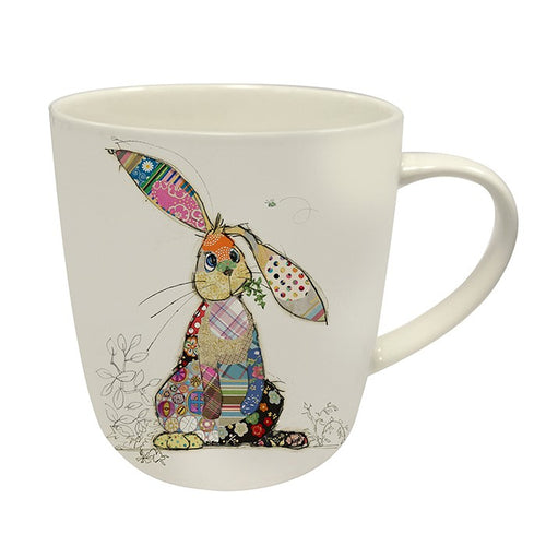 Bug Art Collection Kooks Binky Bunny Fine China Mug Gift Boxed