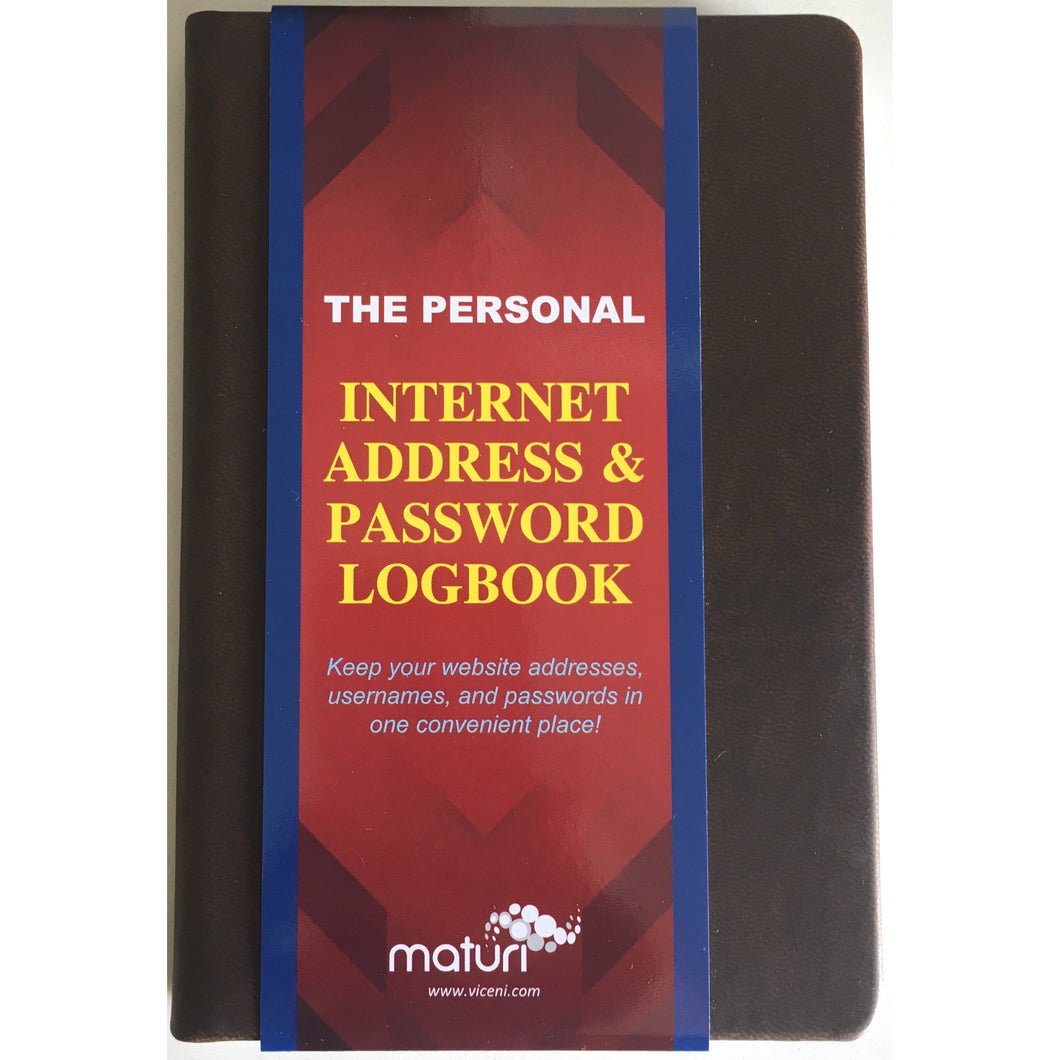 Internet Password Book