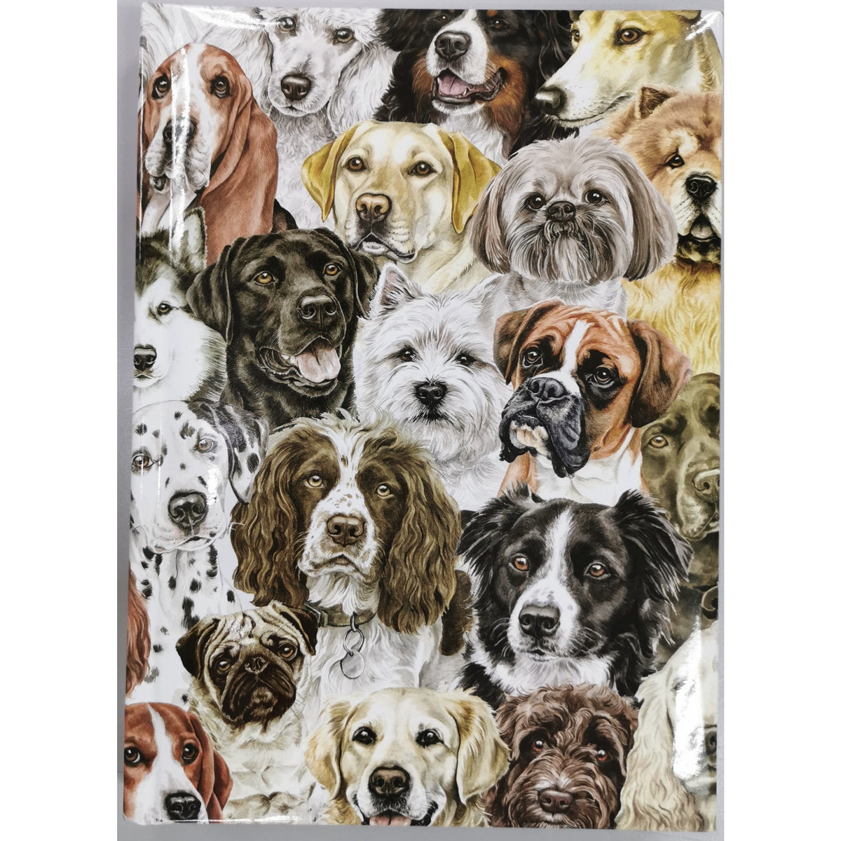 Dog Montage Notebook A5