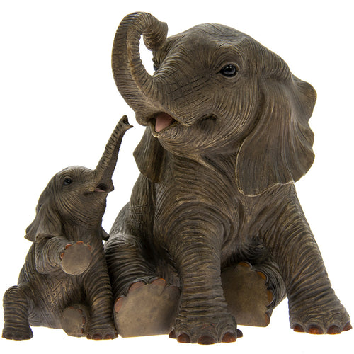 Elephants Playtime Figurine