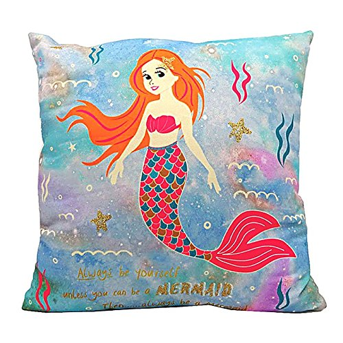 Magic Mermaid Soft Cushion