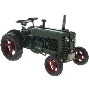 Vintage Green Tractor Ornament