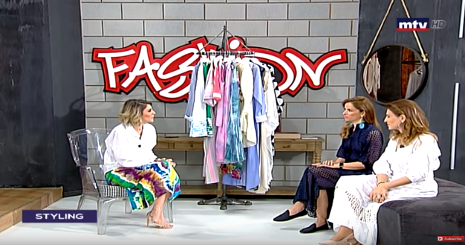 FASHIONISTA INTERVIEW WITH ROULA KEHDI AT MTV