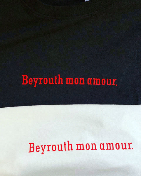T-SHIRT BEYROUTH MON AMOUR