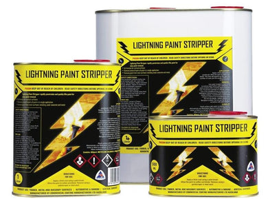 Lightening Paint Stripper