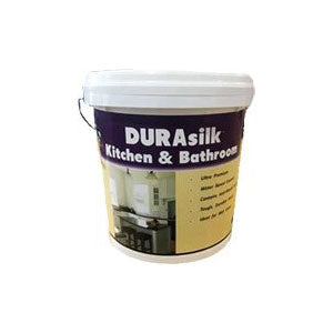 DURAsilk Kitchen & Bath White 10L