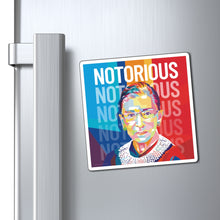 Load image into Gallery viewer, Ruth Bader Ginsburg Notorious RBG Magnet