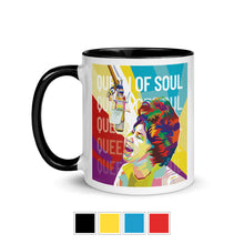Load image into Gallery viewer, Aretha Franklin Queen of Soul Inspirational Mug