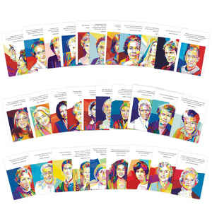 Women of Influence Postcard Deck