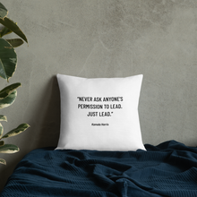 Load image into Gallery viewer, Kamala Harris Trailblazer Inspirational Throw Pillow