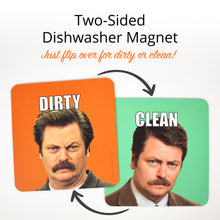 Load image into Gallery viewer, Clean Dirty Dishwasher Magnet