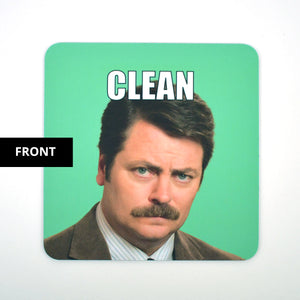 Clean Dirty Dishwasher Magnet - Ron Swanson