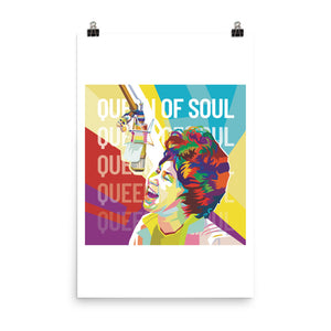 Queen of Soul - Aretha Franklin Posters