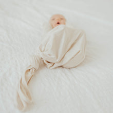 Load image into Gallery viewer, Jasmine White Baby Knot Gown