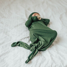 Load image into Gallery viewer, Matcha Green Baby Knot Gown