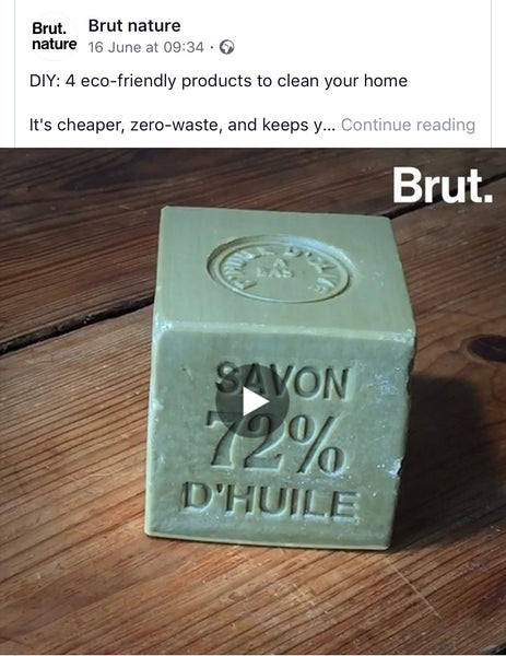 DIY 4 Eco Friendly Products to clean your home