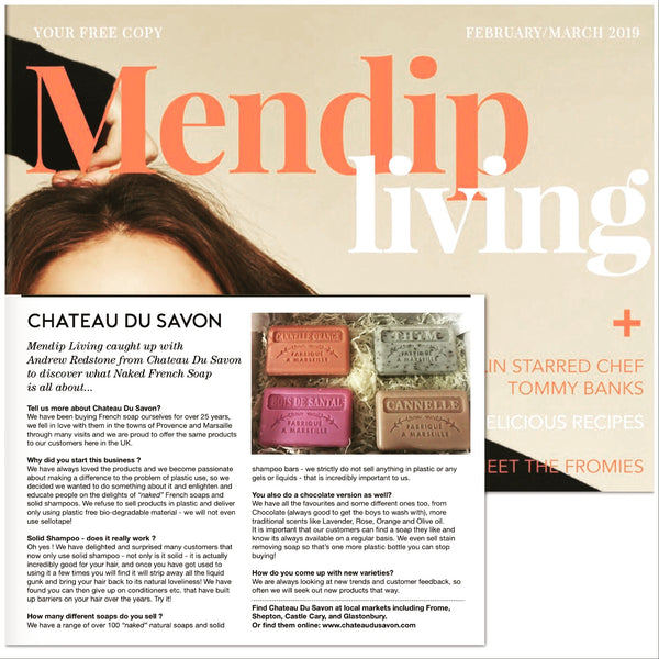 Mendip Living Magazine- French Soap feature