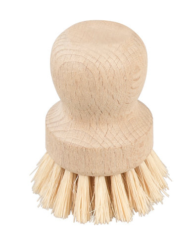 Wooden sustainable pot clean brush
