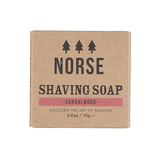 Norse shaving soap with Sandalwood