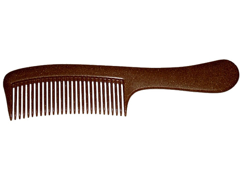 Liquid wood comb with handle biodegradable