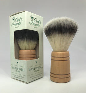 shaving brush natural and vegan