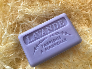Savon De Marseille Provence Lavender French Soap Bar 125g