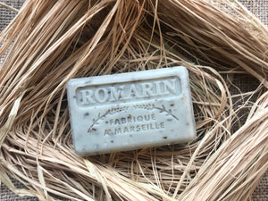 romarin rosemary french soap exfoliator