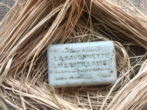 natural french rosemary soap exfoliator