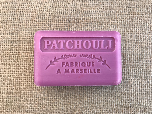patchouli natural french soap