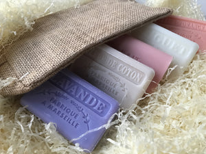 french soap gift set