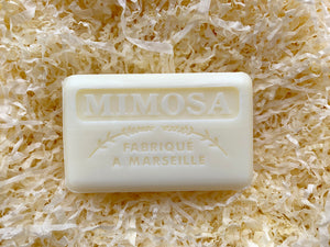 125G Savon De Marseille Mimosa French Soap Bar