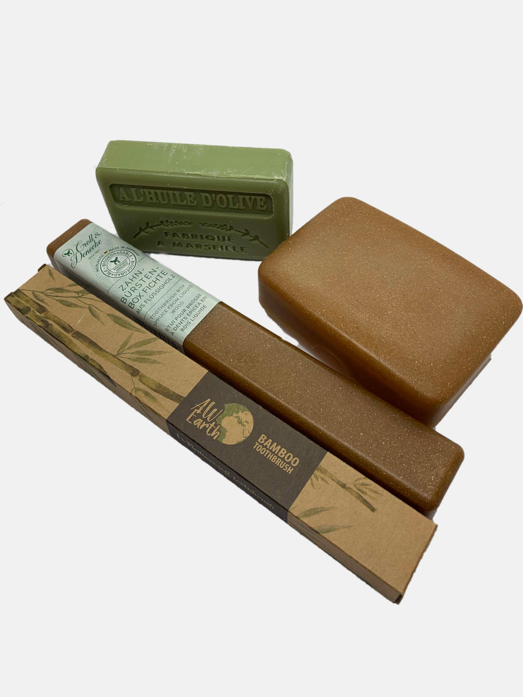 Travel Zero Waste Kit with French Soap