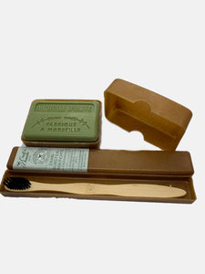 zero waste travel set french soap