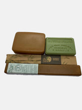 Load image into Gallery viewer, zero waste plastic free travel set french soap