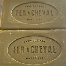 Load image into Gallery viewer, fer a cheval 100g traditonal olive oil marseille soap bar