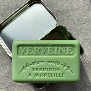 metal soap tin chateau du savon fits all our soaps