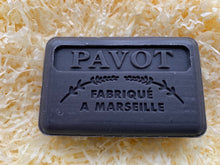 Load image into Gallery viewer, Savon De Marseille French Soap Black Poppy / Pavot 125g