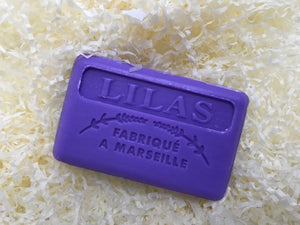 125G Savon De Marseille Lilac French Soap Bar